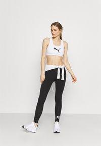 Puma - LEGGINGS - Collants - black/silver - 1