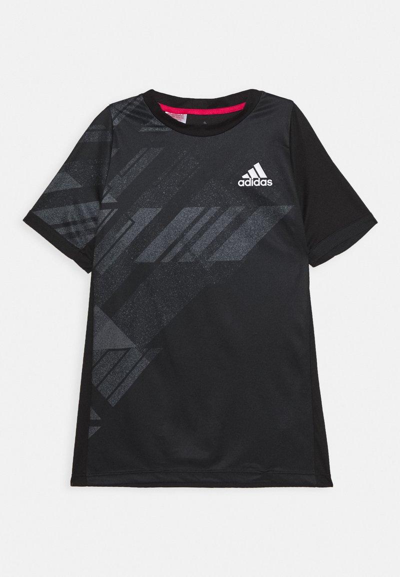 adidas Performance - Funkční triko - black
