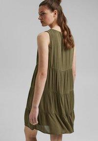 edc by Esprit - Day dress - khaki green - 2