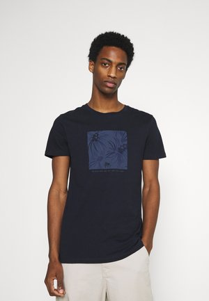 PRINT - Print T-shirt - sky captain blue