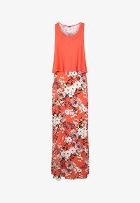 s.Oliver - Maxi dress - koralle-bedruckt - 5