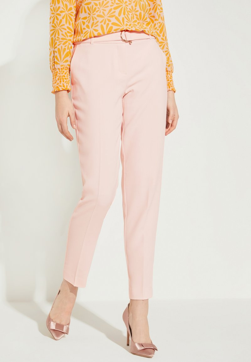 comma - Trousers - powder rose