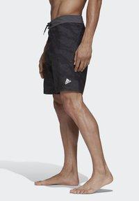 adidas Performance - PRIMEBLUE CLX SHORTS - Swimming trunks - black - 2