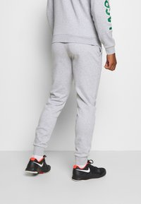 Lacoste Sport - TRACKSUIT - Survêtement - silver chine/green/white - 4