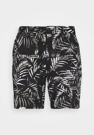 TROPICAL PRINT - Shorts - black