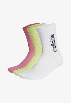 3 PACK - Sports socks - white
