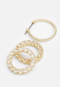 Swarovski - EXALTA HOOP - Boucles d'oreilles - gold-coloured/white - 3