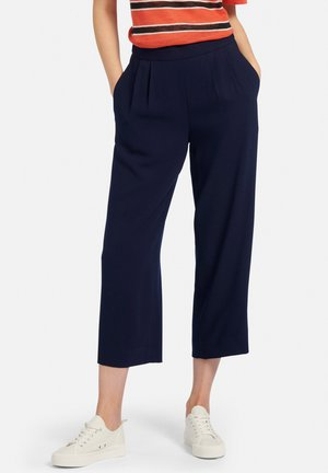 SCHLUPF-CULOTTE - Trousers - marine