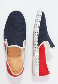 RIVIERAS - FRANCE - Slip-ons - navy/red - 1