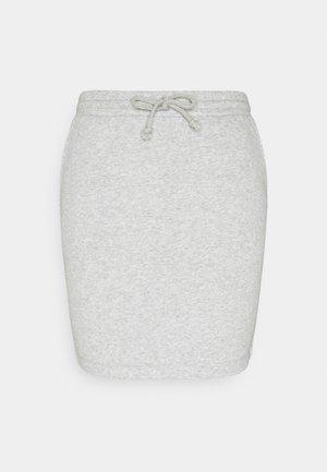 PCCHILLI SKIRT - Mini skirt - grey