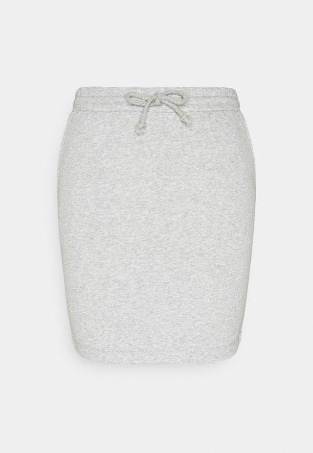 PCCHILLI SKIRT - Minifalda - grey