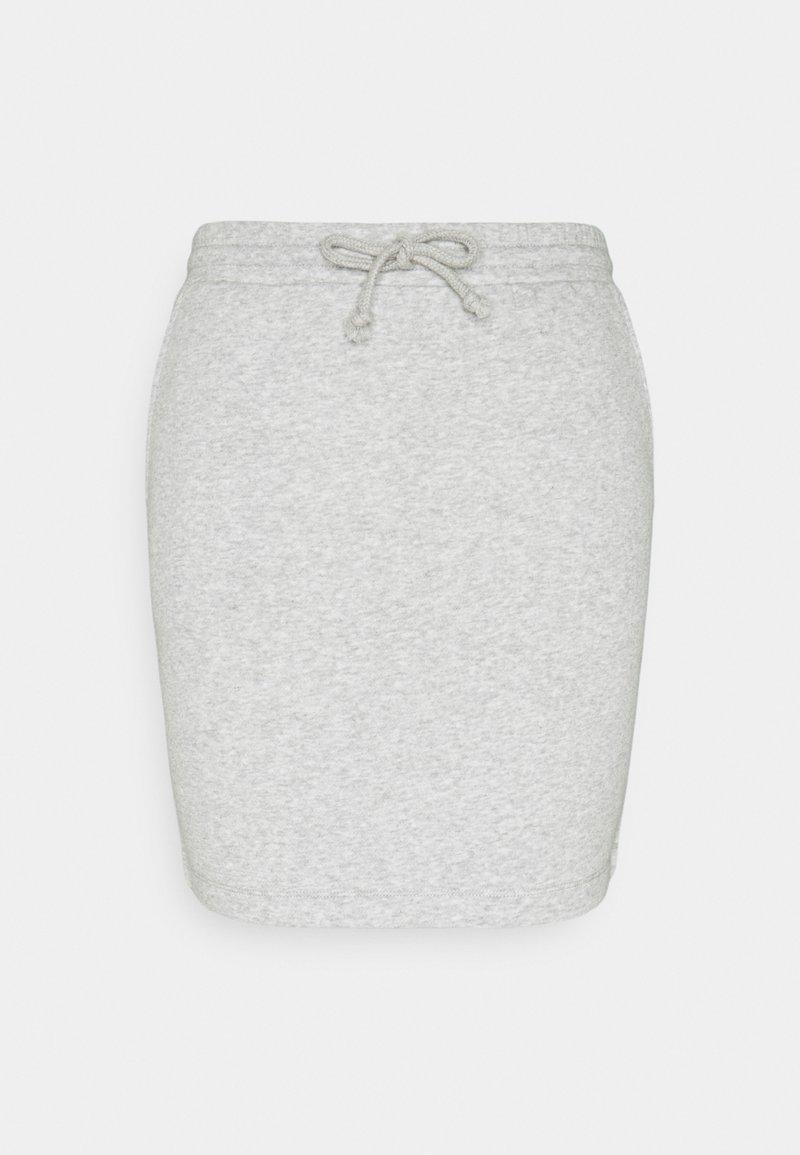 Pieces - PCCHILLI SKIRT - Mini skirt - grey
