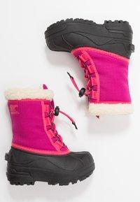 Sorel - YOUTH CUMBERLAND - Zimní obuv - deep blush - 0