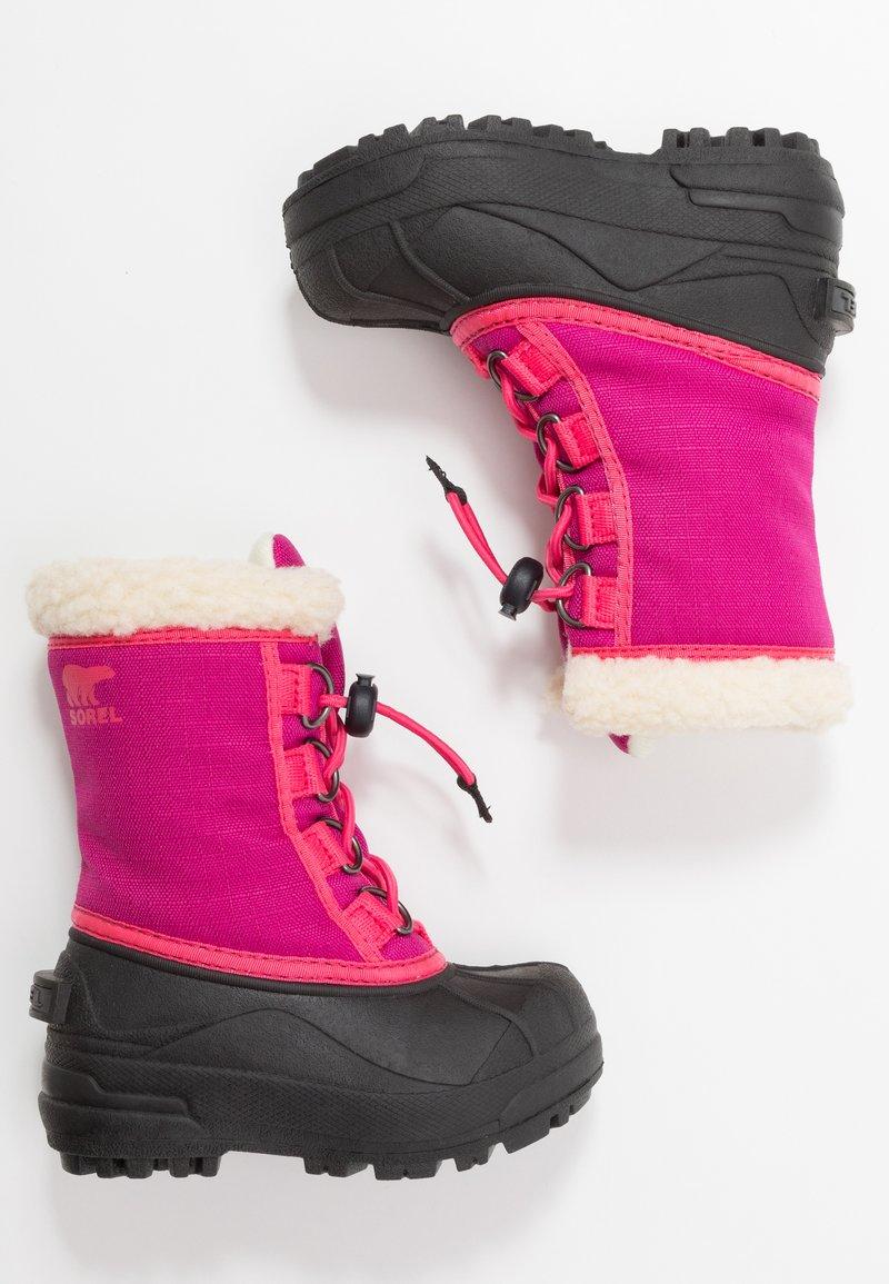 Sorel - YOUTH CUMBERLAND - Zimní obuv - deep blush