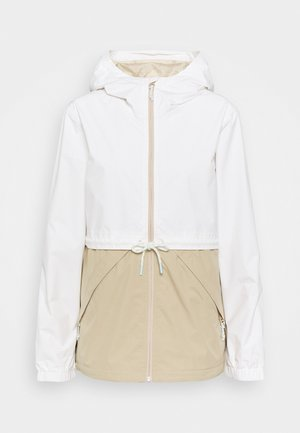 NARRAWAY - Waterproof jacket - stowht/safari