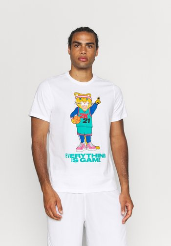 NBA 2K DYLAN TEE - T-shirt con stampa - white/lapis blue