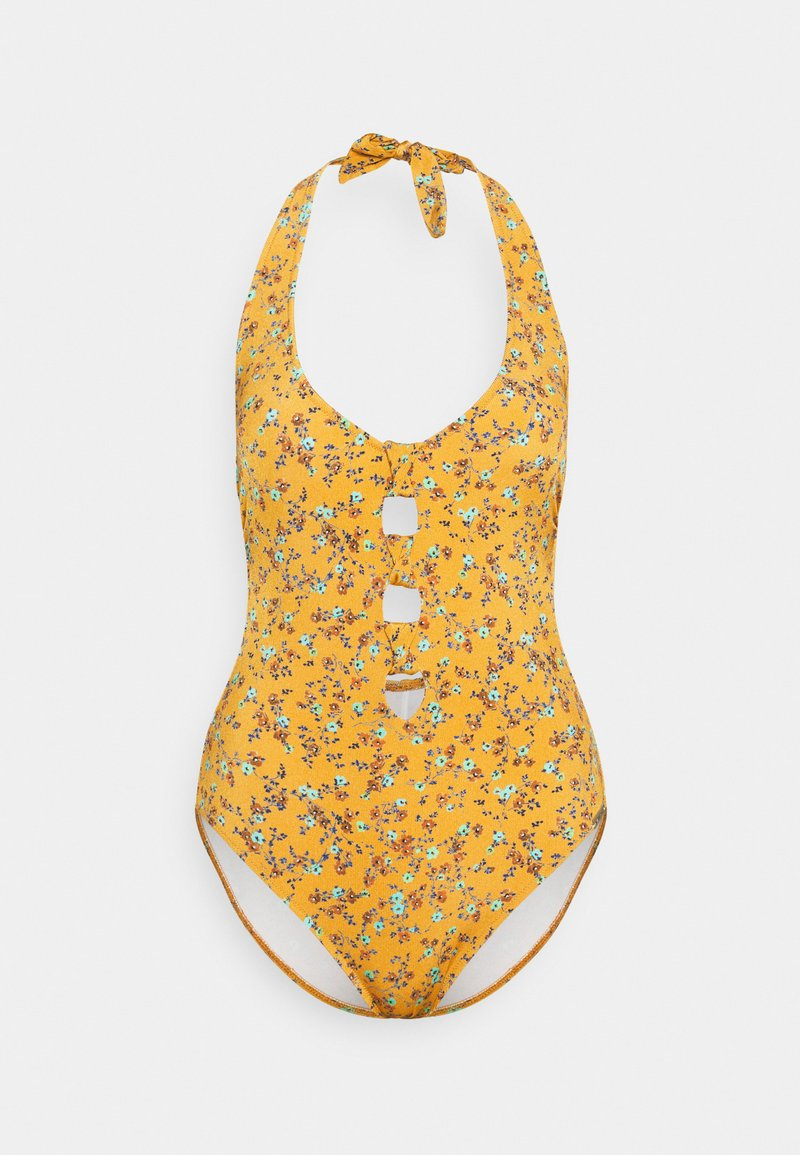 watercult - EARTHBOUND DITSIES - Swimsuit - golden harvest