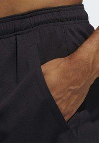 adidas Performance - ALL SET 2 DESIGNED2MOVE SHORTS - Shorts - black - 5