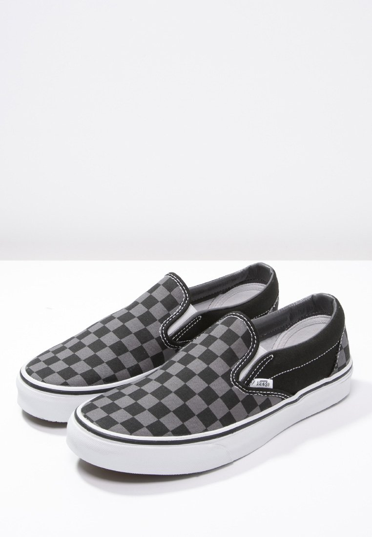 Vans CLASSIC SLIP-ON - Slip-ins - black/pewter/svart - Herrskor 2uGpc
