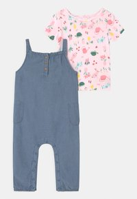 Carter's - CHAMBRAY SET - Print T-shirt - blue - 0