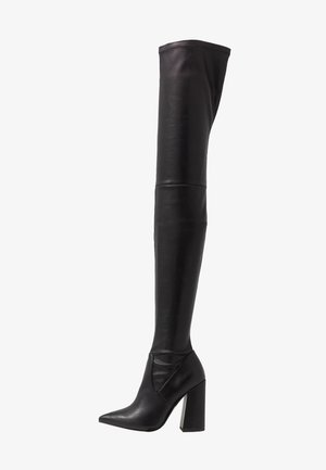 SOMMER - High Heel Stiefel - black paris