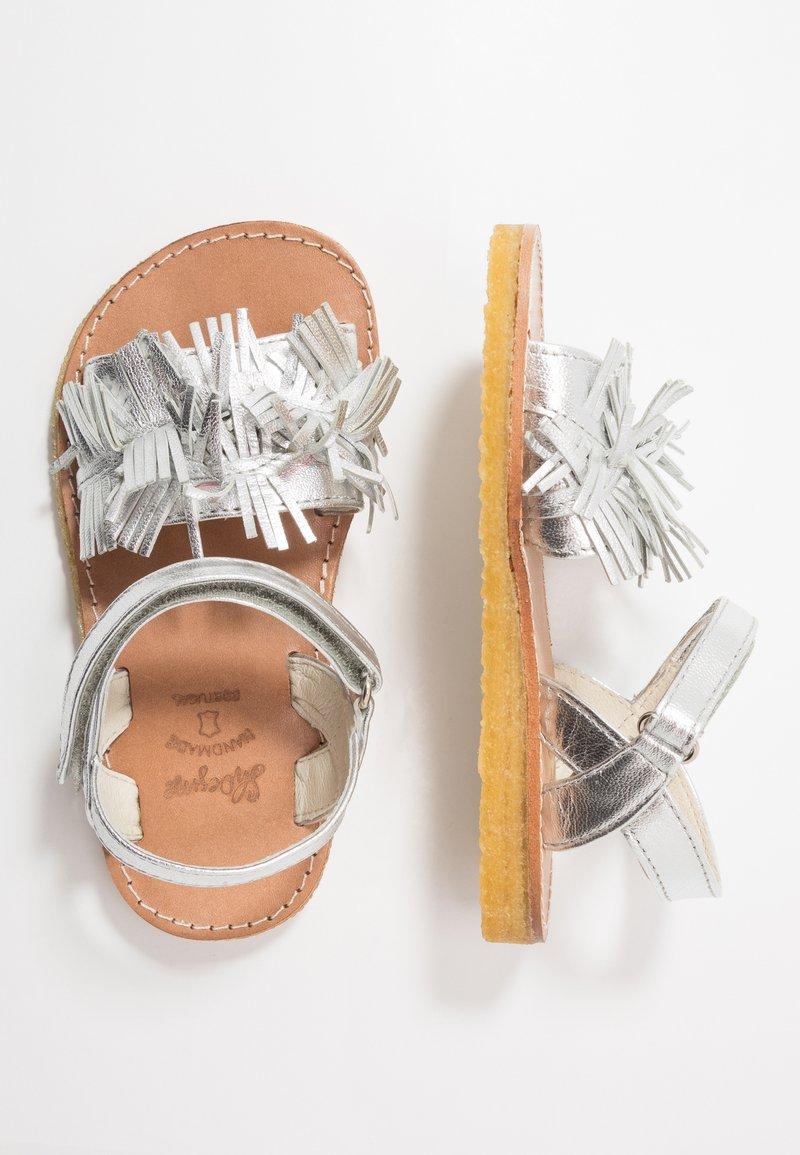 Shoesme - Sandals - silver