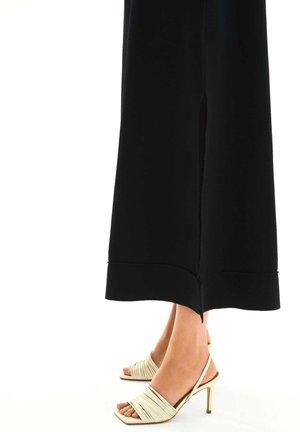 LELA - High heeled sandals - white