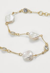 SNÖ of Sweden - SHAPE PEARL - Bracelet - gold-coloured/white - 2