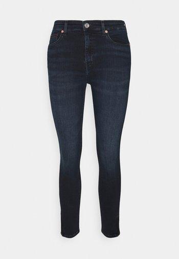 NORA ANKLEZIP - Jeans Skinny - denim dark