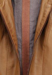 Mustang - BLANCA - Leren jas - cognac - 3
