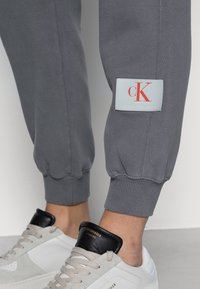 Calvin Klein Jeans - RELAXED FIT TRACK PANT - Tracksuit bottoms - shining armor - 4