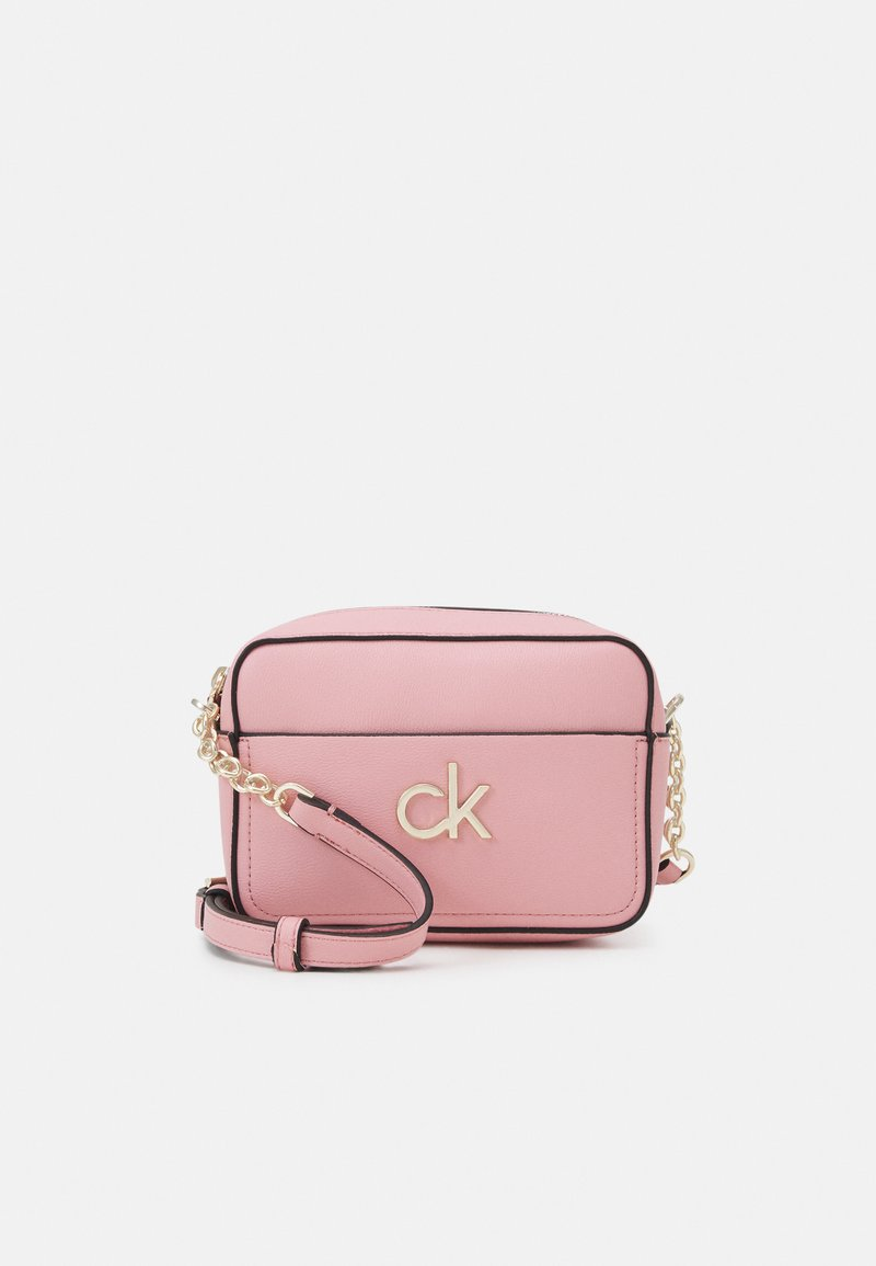 Calvin Klein - CAMERA BAG - Across body bag - shadow rose