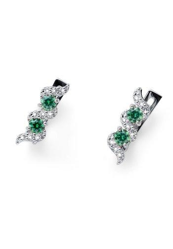 PASO  - Earrings - grün
