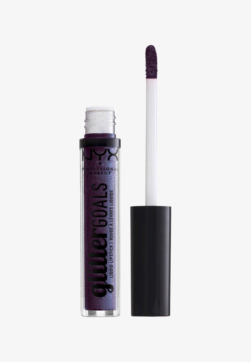 Nyx Professional Makeup - GLITTER GOALS LIQUID LIPSTICK - Liquid lipstick - 7 namethyst vibes