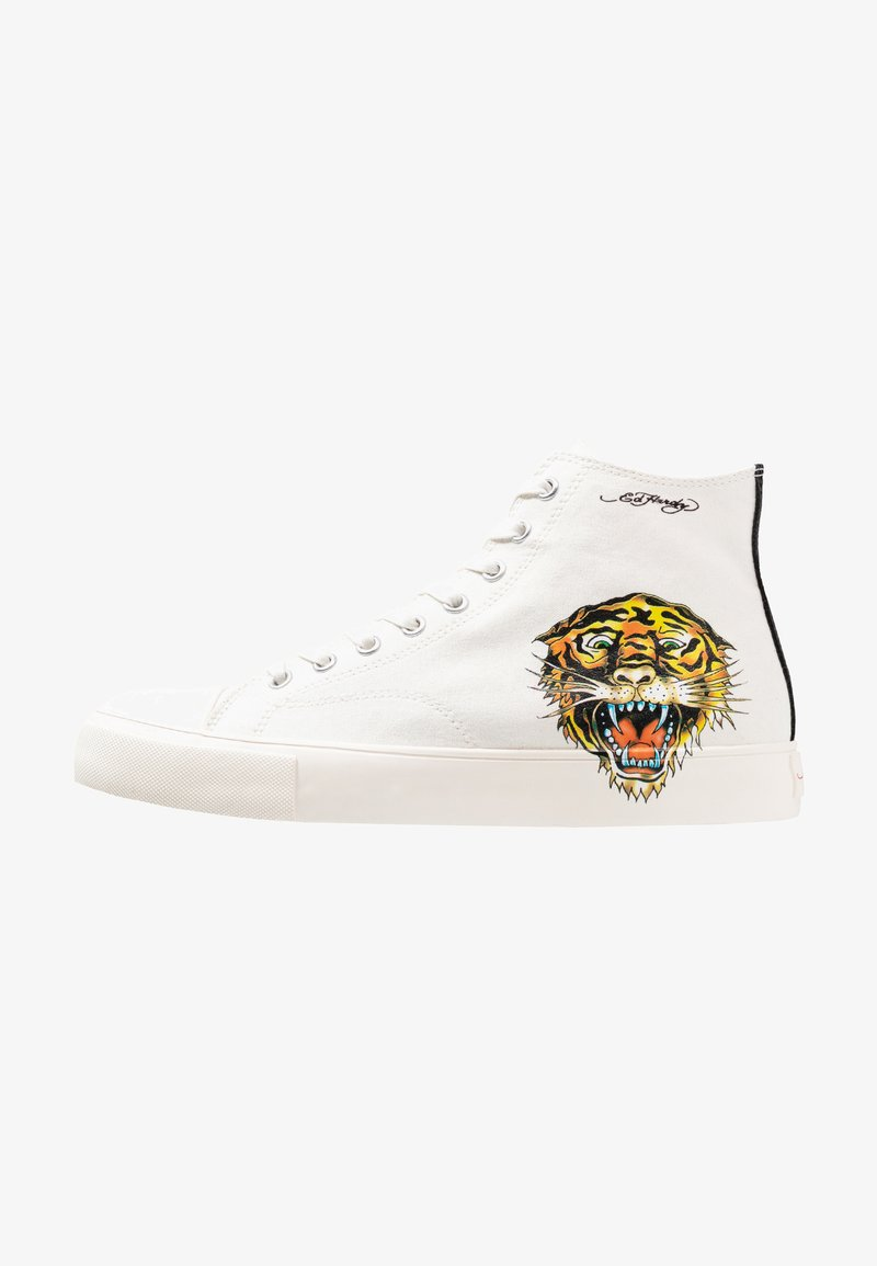 Ed Hardy - FIERCE TOP - Sneakers high - white