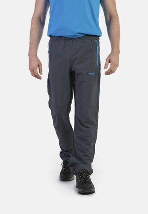 CLOISTER - Pantalons outdoor - dark grey/blue river