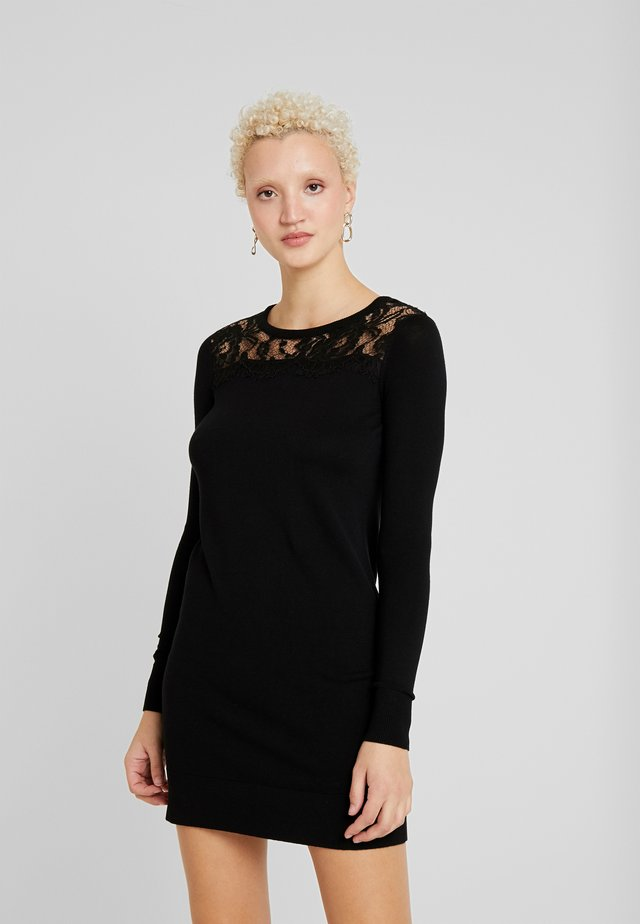 VMLACOLE DRESS - Neulemekko - black