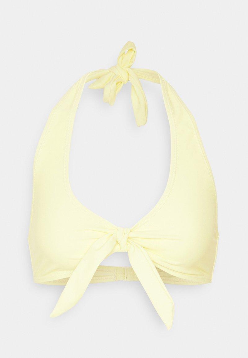 NA-KD - BIG KNOT - Bikini-Top - yellow