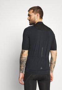 Craft - ENDUR - T-shirt imprimé - black - 2