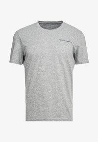 TOM TAILOR - T-shirt med print - sky captain blue/ white melange - 3