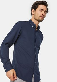 WE Fashion - SLIM FIT - Camicia - blue - 3