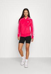 adidas Originals - TRACKTOP - Treningsjakke - power pink/white - 1