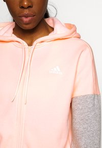 adidas Performance - ENERGIZE SPORTS SLIM TRACKSUIT - Trainingsanzug - coral - 6