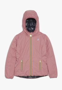K-Way - THERMO PLUS DOUBLE - Down jacket - pink/blue - 0
