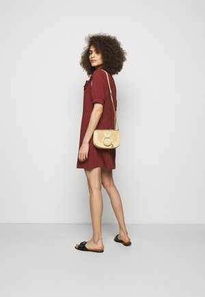 Hana Evenning bag - Across body bag - seed brown