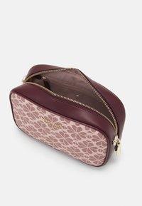 kate spade new york - MEDIUM CAMERA BAG - Across body bag - pink/multi - 3
