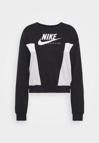 Nike Sportswear - HERITAGE CREW  - Felpa - black/grey heather/white - 4