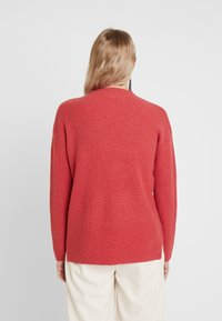 comma casual identity - LANGARM - Jersey de punto - burned rose - 2