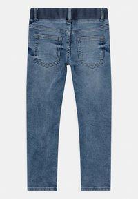 Lindex - MINI EDVIN PULL ON - Slim fit jeans - light denim - 1