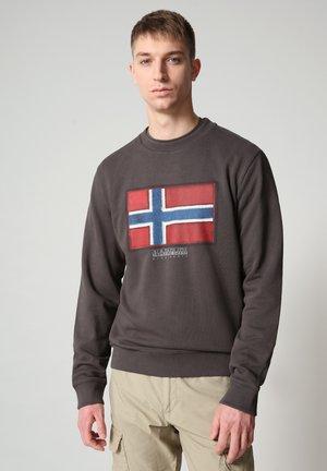 BIROL CREW - Sweatshirt - dark grey solid